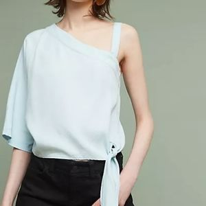 Anthro Holding Horses Maddie One Shoulder Top XS